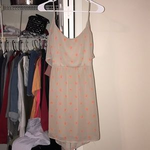summer dress with tie back